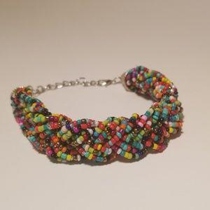 "Jewelry - 10"" beaded bracelet"